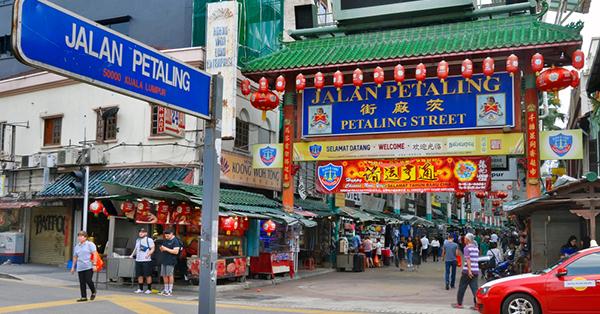 tempat belanja souvenir Malaysia - jalan petaling