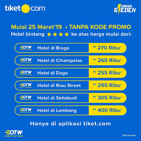 Pricelist OTW Bandung