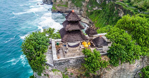 Pura di Bali Pura Luhur Uluwatu - 10 Pura Indah di Bali, Ada yang Bikin Enteng Jodoh!
