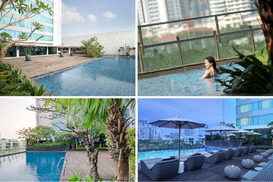 10 Hotel Dengan Kolam Renang Rooftop Di Jakarta Tiket Com