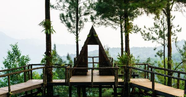 Rumah Pohon di Bogor - Pabangbon