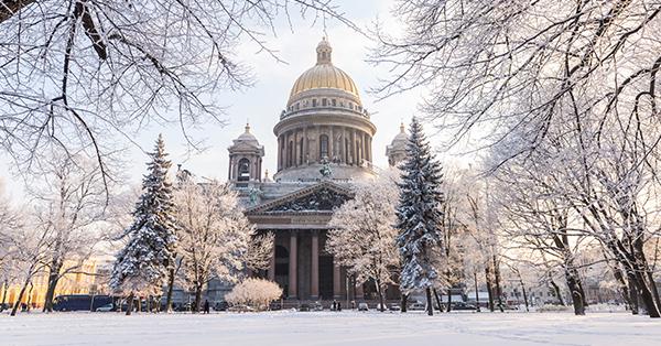 Destinasi Liburan Musim Dingin - St. Petersburg, Russia