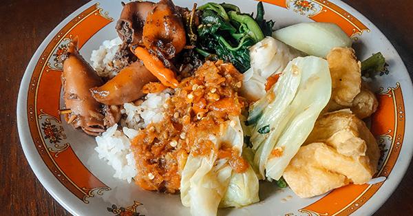 Makanan Khas Banyuwangi - Sego Tempong