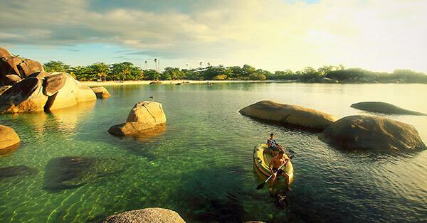 Spot Snorkeling di Bangka Belitung - Pantai Tanjung Tinggi