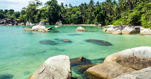 Spot Snorkeling di Bangka Belitung - Pulau Burung
