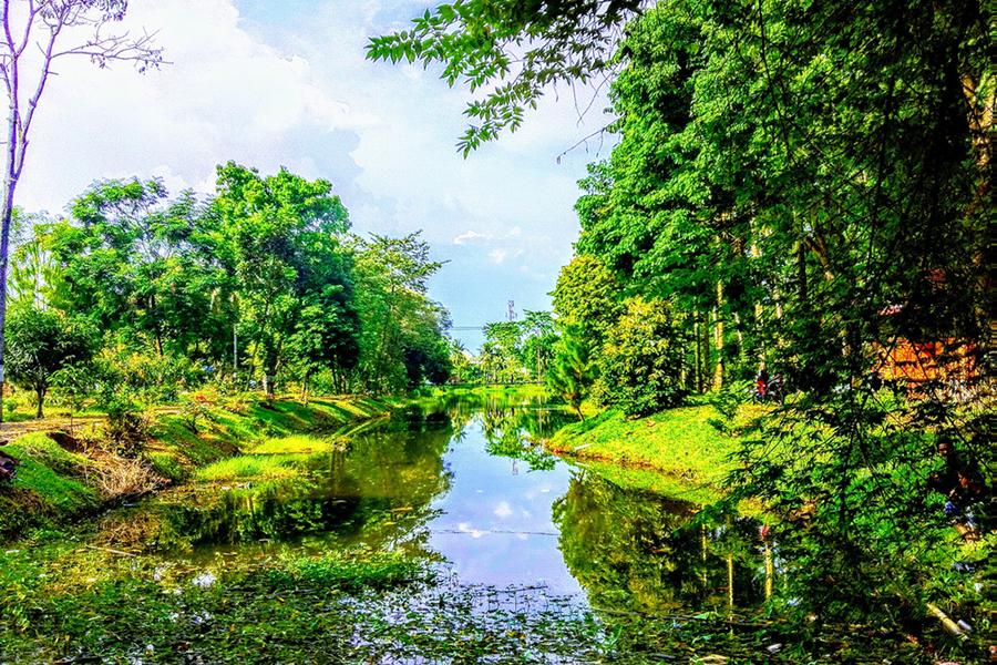 Tempat Wisata Romantis di Medan - Taman Cadika