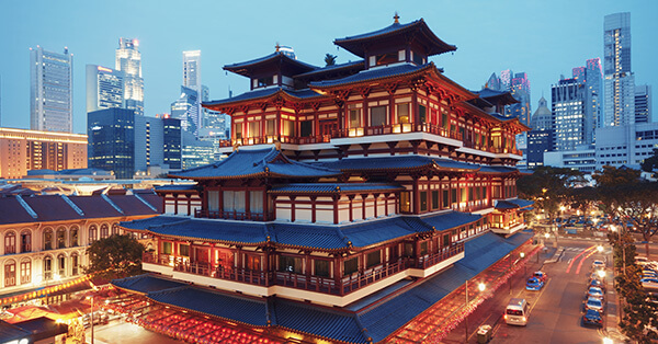 Tempat Belanja di Singapura - China Town
