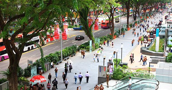 Tempat Belanja di Singapura - Orchad Road