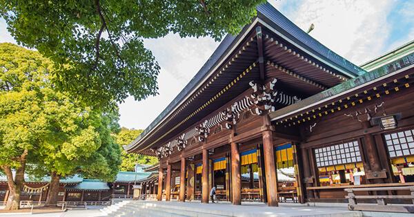 Tempat Instagramable di Tokyo - Kuil Meiji Jingu