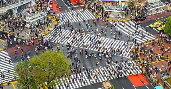 Tempat Instagramable di Tokyo - Shibuya Crossing