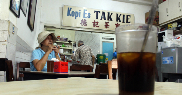 Tempat Makan Legendaris di Jakarta - Kopi Tak Kie