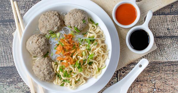 Tempat Makan di Malang yang Enak - Bakso Kuto Cak To