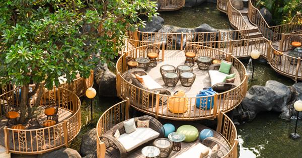 Tempat Merayakan Valentine di Jakarta - Jimbaran Outdoor Lounge1