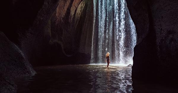 Pre-wedding Locations in Bali_Tukad Cepung Waterfall