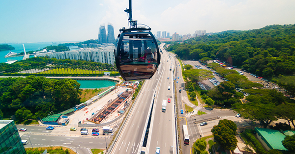 Tempat Romantis di Singapura_blog_Jewel Cable Car