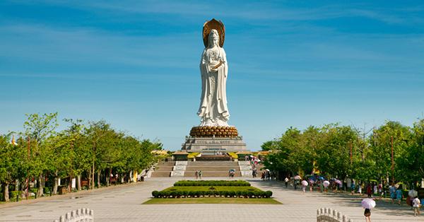Tempat Terbaik di Hainan - Guanyin of Nanshan