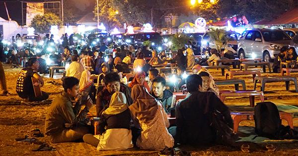 Tempat Wisata Malam di Jogja - Alun - Alun Kidul