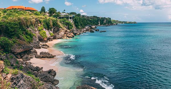 Tempat Wisata Romantis di Bali - Pantai Tegal Wangi