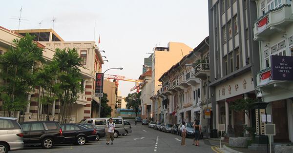 Tempat Wisata Singapura dalam Film Crazy Rich Asians -Bukit Pasoh Road