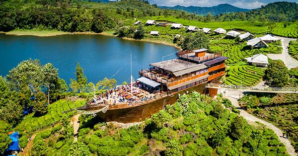 Tempat Wisata di Bandung Untuk Keluarga - Pinisi Resto