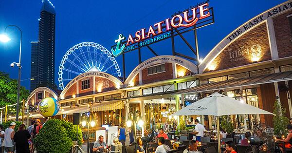 Tempat Wisata di Bangkok - Asiatique Riverfront