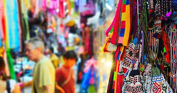 Tempat Wisata di Bangkok - Chatuchak Weekend Market