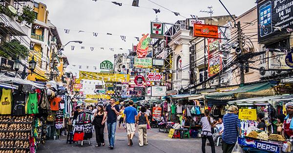 Tempat Wisata di Bangkok - Khao San Road