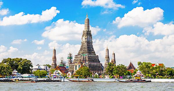 Tempat Wisata di Bangkok - Wat Arun