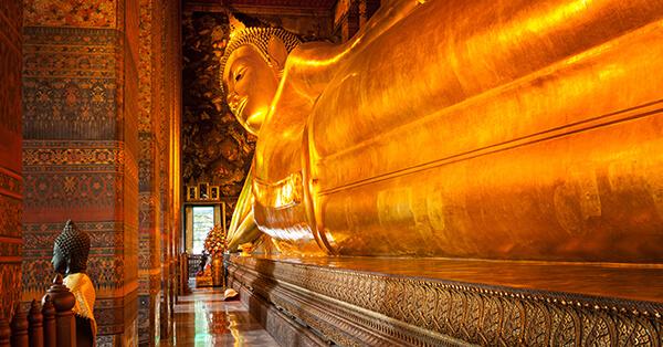 Tempat Wisata di Bangkok - Wat Pho