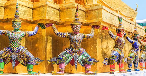 Tempat Wisata di Bangkok - Wat Phra Keow