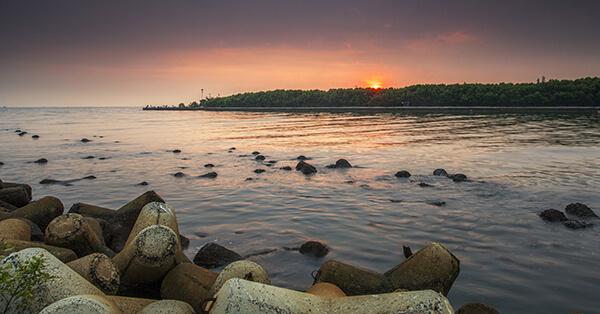 9800 pemandangan pantai indah kapuk HD Terbaru