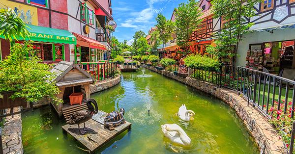 Tempat Wisata di Pattaya - Mimosa Pattaya