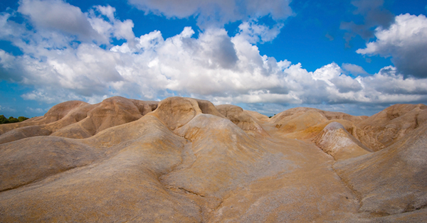 Tempat Wisata di Pulau Bintan - gurun pasir busung