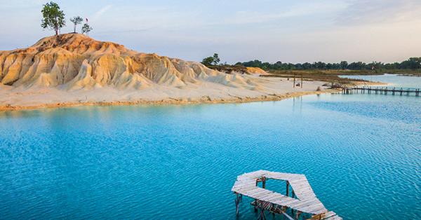 Tempat Wisata di Pulau Bintan - telaga biru1