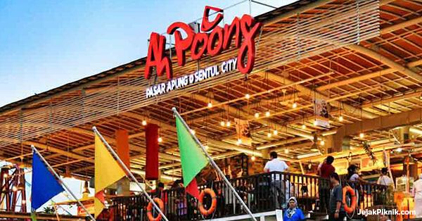 Tempat Wisata di Sentul - Pasar Ah Poong Sentul