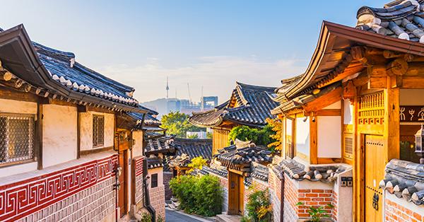 Tempat Wisata di Seoul - Bukchon Hanok Village
