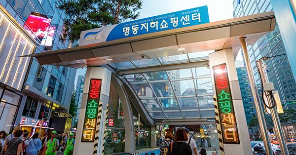 Tempat Wisata di Seoul - Myeongdong Underground