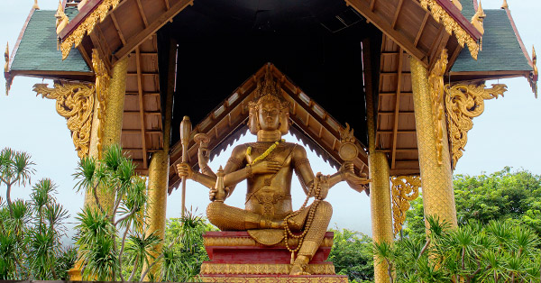 Tempat Wisata di Surabaya - Patung Budha Empat Wajah