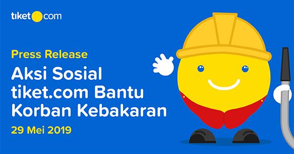 tiket.com Lakukan Aksi Sosial Menyediakan Makanan Sahur Untuk Korban Kebakaran Pademangan, Jakarta Utara