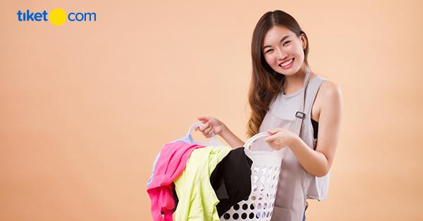 Tips Mencuci Baju Saat Liburan