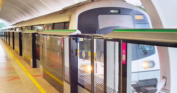 Transportasi Publik di Singapore - LRT