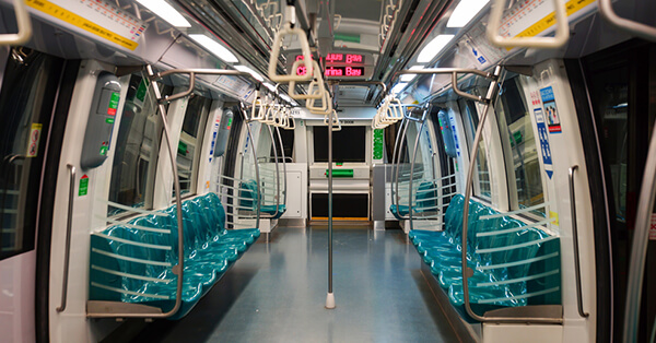 Transportasi Publik di Singapore - MRT