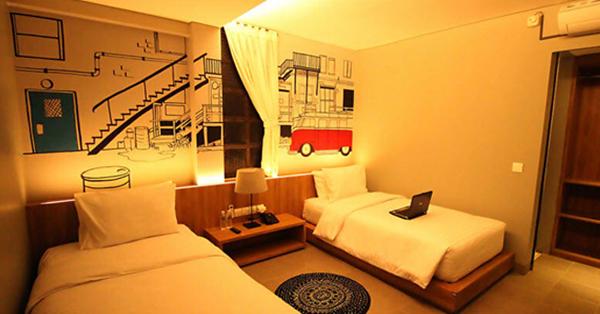 instagrammable hotel in Bandung_Triple Seven Hotel