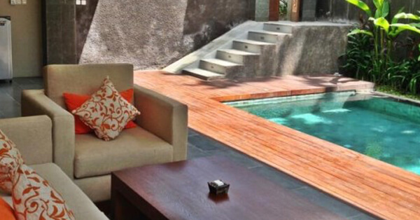 Villa di Bali dengan Private Pool - The Canggu Boutique Villas and Spa