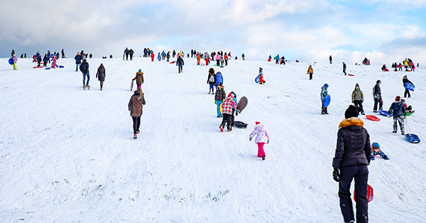 Winter in Baltics