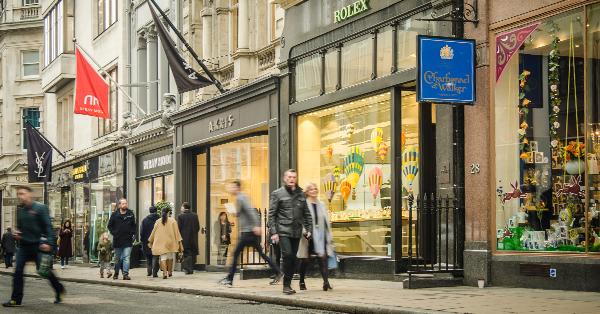 Wisata Surga Belanja di London - Bond Street