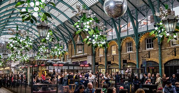 Wisata Surga Belanja di London - Covent Garden Market