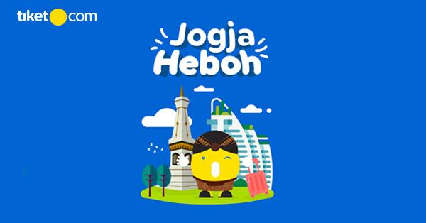 Memajukan Pariwisata Kota Yogyakarta, PHRI Gandeng tiket.com Memberikan Promo Diskon Hotel Hingga 50% di Jogja Heboh 2020
