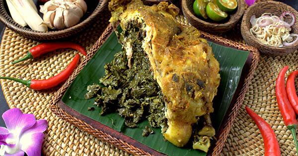 makanan halal di bali-ayam-betutu