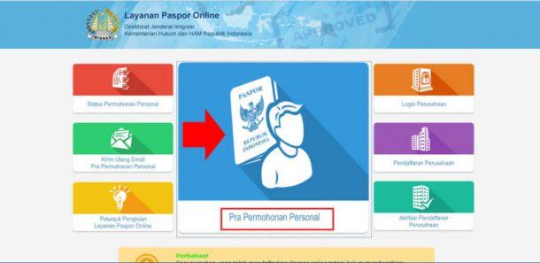 Syarat & cara membuat paspor online